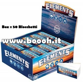 FILTRI IN CARTA ELEMENTS CLASSICI - BOX DA 50 BLOCCHETTI in vendita su Boooh.it footer