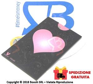 Grinde Card con Cuore Rosa v-Syndicate Tritatabacco in Vendita su Boooh.it Footer