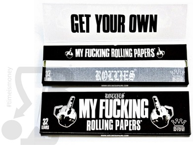 My Fucking Rolling Papers Libretto Singolo. su Boooh.it
