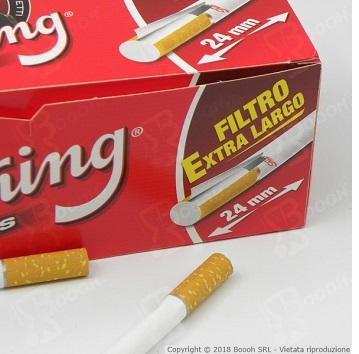 Tubetti da 200 Sigarette Vuote della Smoking con Filtro Extra Long 24mm su Boooh.it 3
