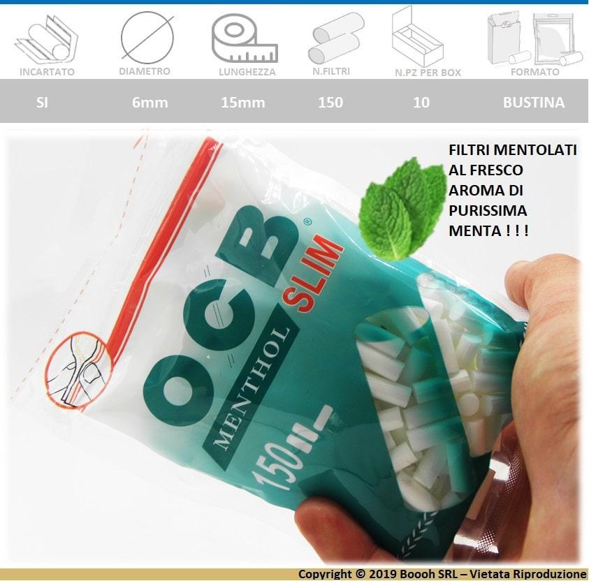 filtri-mentolo-slim-ocb-menta-6mm-confezione-10-bustine-150-filtrini-banner-descrizione-min