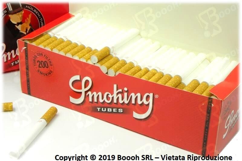 SMOKING TUBETTI CON FILTRO - BOX DA 200 SIGARETTE VUOTE 3
