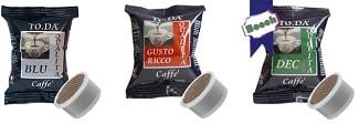 Capsule Gattopardo To.Da compatibili con sistemi Lavazza Espresso Point in vendita su Boooh.it 1