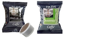 Capsule Gattopardo To.Da compatibili con sistemi Lavazza Espresso Point in vendita su Boooh.it 2