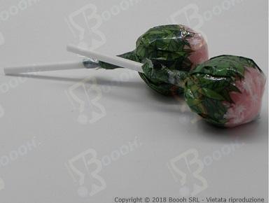 Immagine di proprietà della Boooh Srl. Cannabis Lollipops Fragola