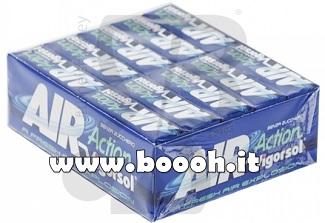 AIR ACTION VIGORSOL ORIGINAL CHEWING GUM SENZA ZUCCHERO - STICK O BOX IN VENDITA SU BOOOH.IT FOOTER