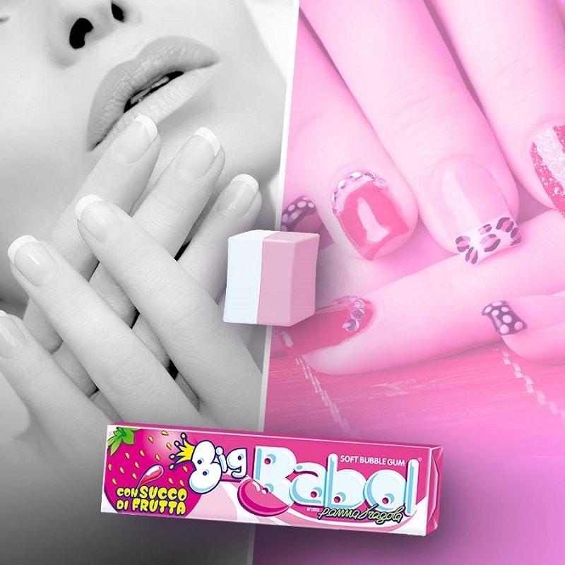 big-babol-chewing-gum-per-lei-donna-ragazza