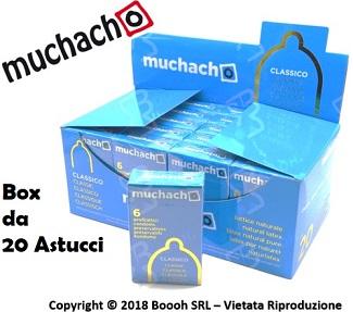 PRESERVATIVI MUCHACHO CLASSICI - ASTUCCIO DA 6 PROFILATTICI in vendita su Boooh.it footer