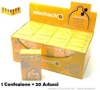 PRESERVATIVI ULTRA SOTTILI MUCHACHO - ASTUCCIO DA 6 PROFILATTICI EXTRA THIN IN VENDITA SU BOOOH.IT footer