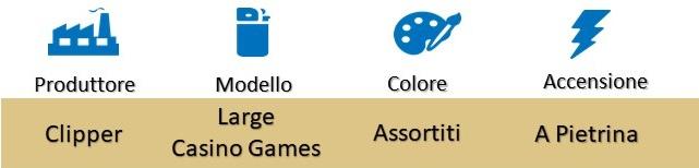 Icona Clipper Large Casino Games Box su Boooh.it