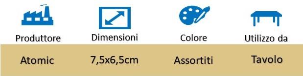 Icona Posacenere Forma di Bidoncino in Alluminio con Coperchio su Boooh.it