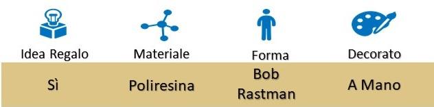 """Icona Bob Rastaman con Capoccione Ballerino """"Stoned Again"""" su Boooh.it"""