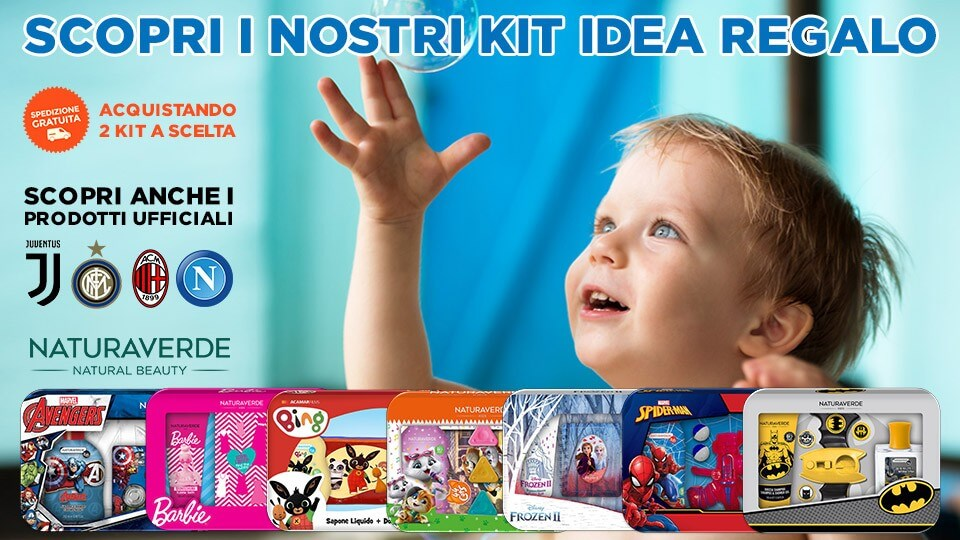 Kit Idee Regalo NaturaVerde Kids
