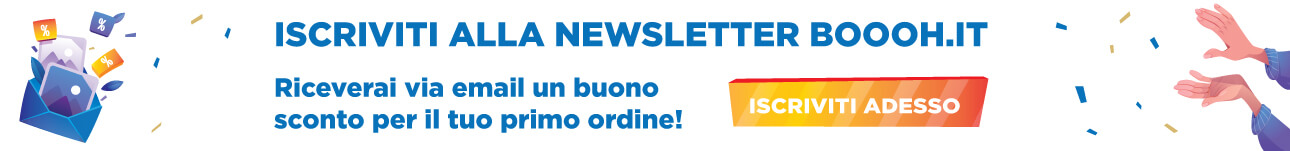 Iscriviti alla Newsletter Boooh.it
